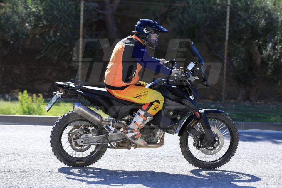 KTM 800 Adventure Spied 1