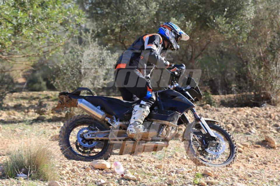 KTM 800 Adventure Spied 3