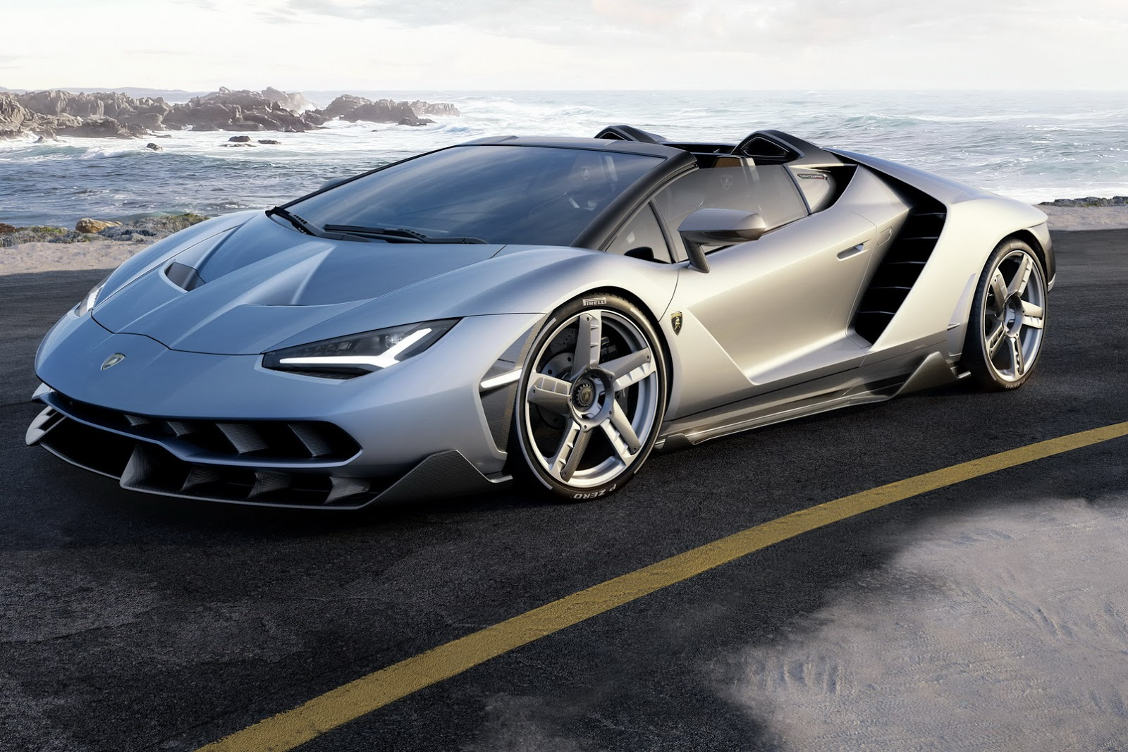 770 Hp Lamborghini Centenario Roadster Unveiled In Pebble