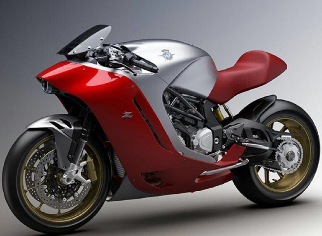 Mv Agusta F4z Unveiled Based On The F4 Superbike