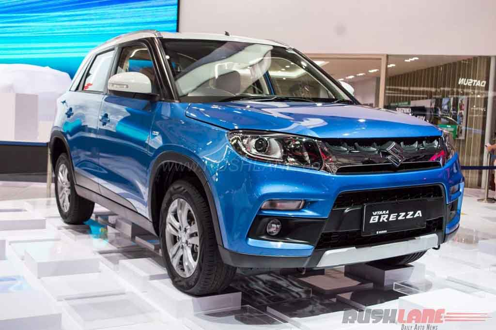 Suzuki Grand Vitara 2018 Indonesia >> Indian-Made Maruti Suzuki Vitara Brezza AT Showcased in Indonesia - Gaadiwaadi.com - Latest Car ...