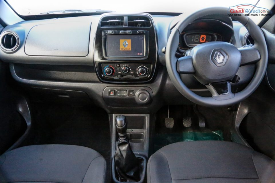 Renault Kwid 1.0L (1000cc) Review-16