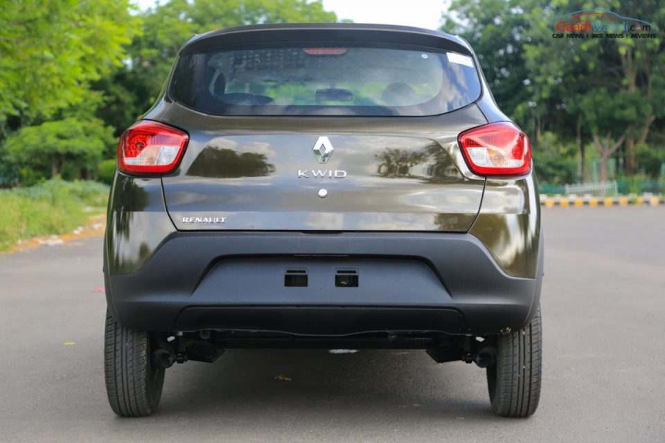 Renault Kwid 1.0L (1000cc) Review-7