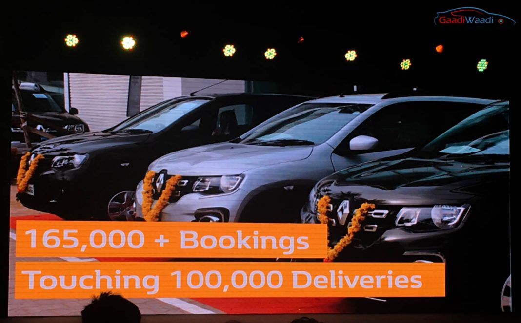 Renault kwid 100000 unit sold