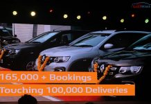 Renault kwid 100000 unit sold