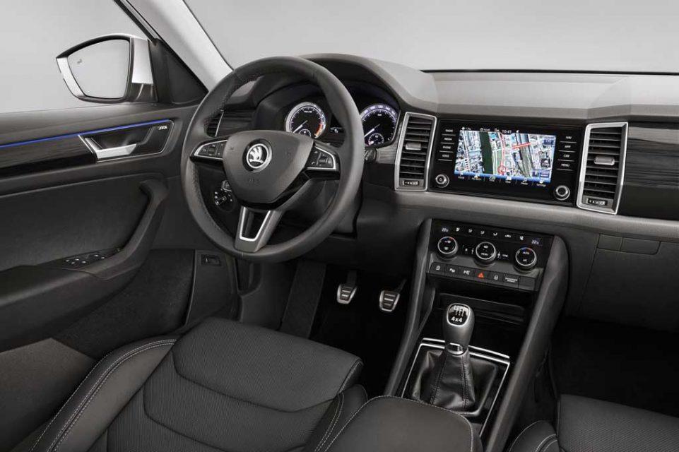 Skoda kodiaq suv price engine specs features interior for Interior skoda kodiaq