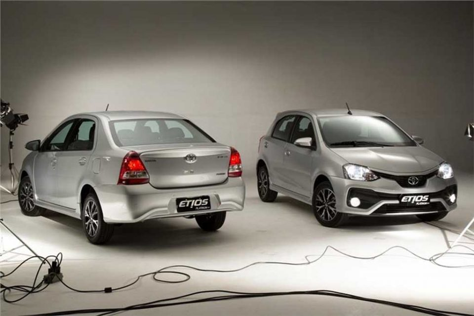 Toyota Etios Facelift Previewed Through Etios Platinum