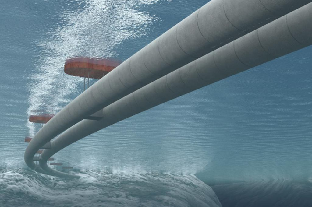 World's First Floating Underwater Tunnel