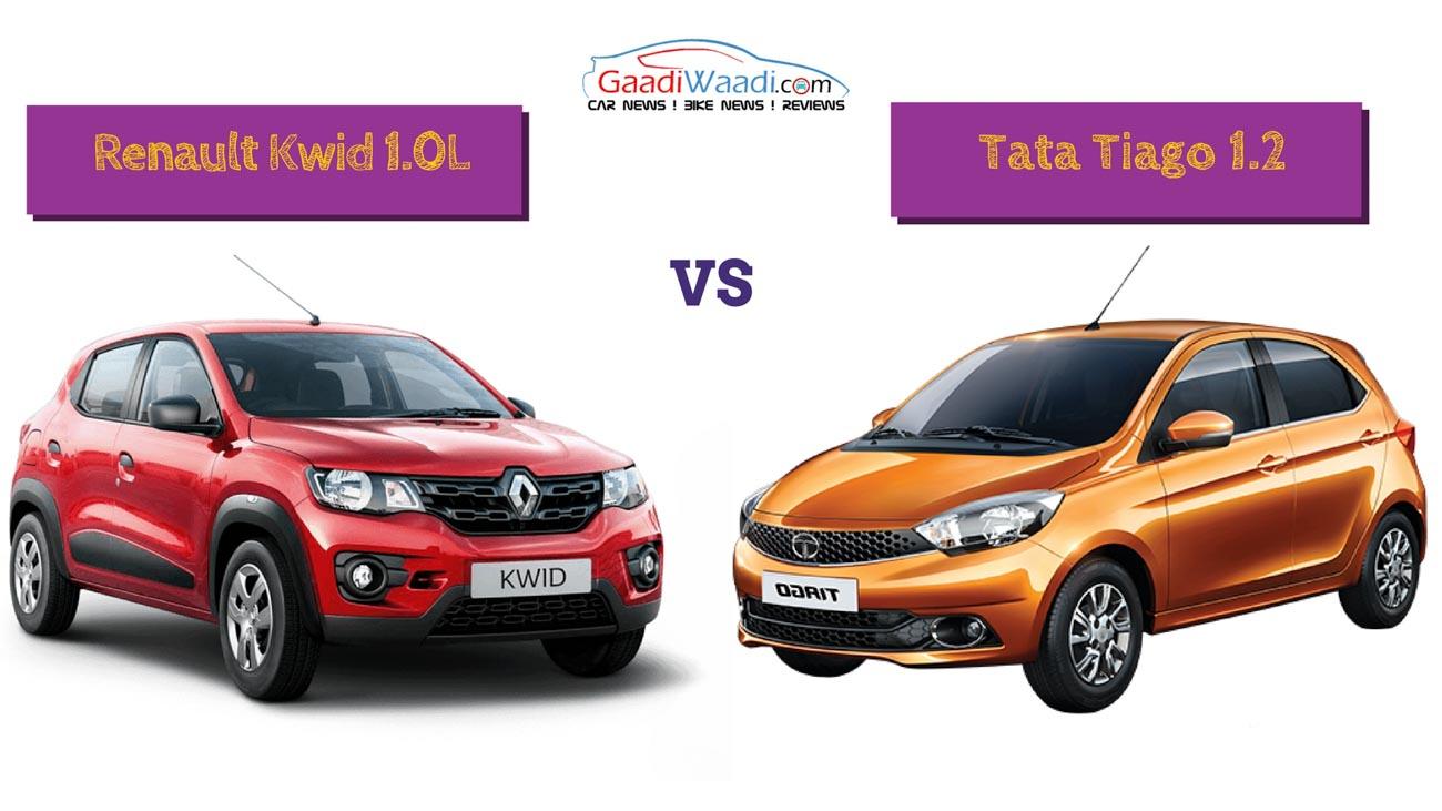 A-1 Auto Sales >> Renault Kwid 1000 vs Tata Tiago – Spec Comparison