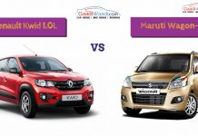 renault kwid 1000 (1.0l) vs Maruti Suzuki Wagon-R-2