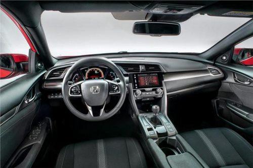 2017 Honda Civic Hatchback interior