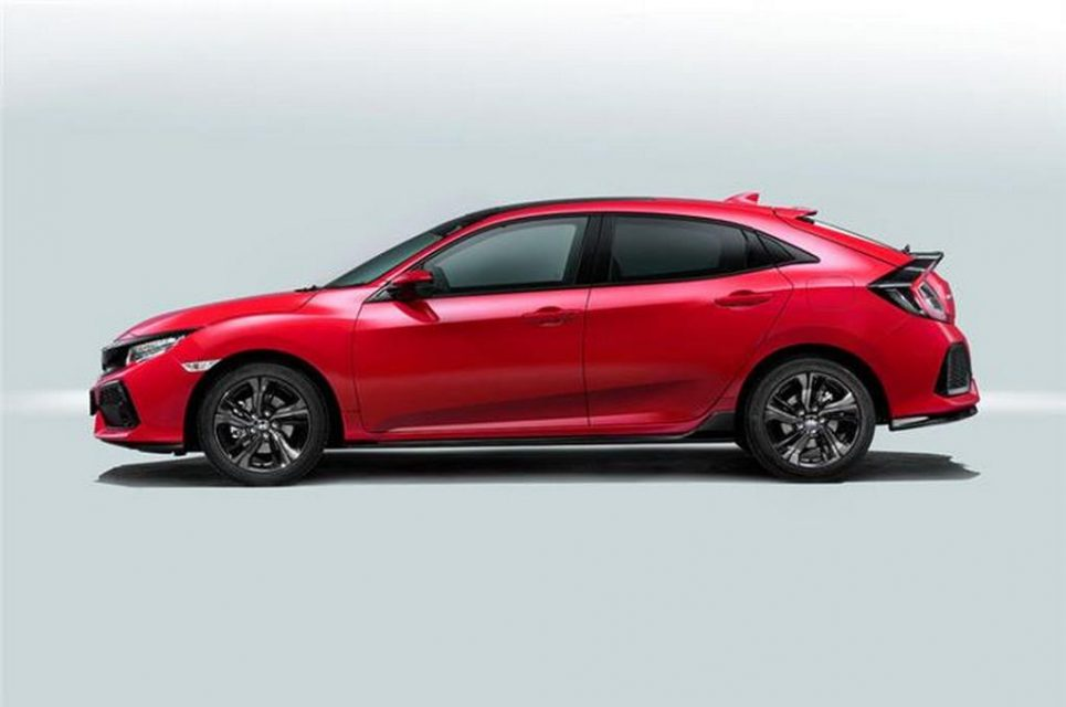 2017 honda civic hatchback officially revealed. Black Bedroom Furniture Sets. Home Design Ideas