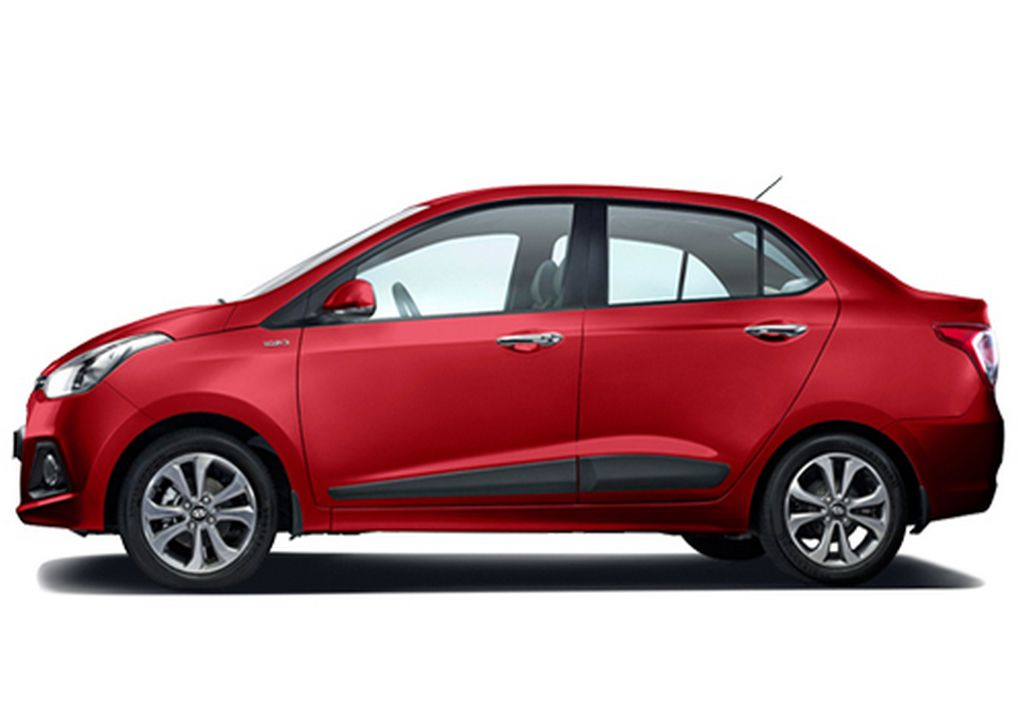 2017 hyundai xcent facelift india launch price engine for Hyundai xcent exterior