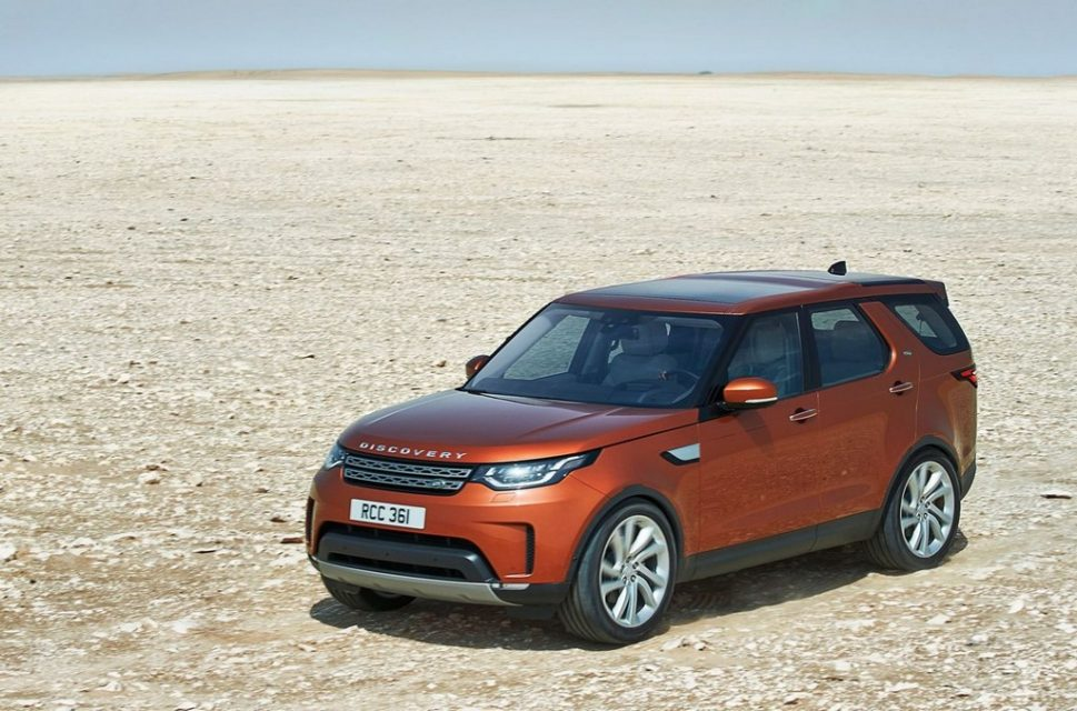 2017 Land Rover Discovery 12