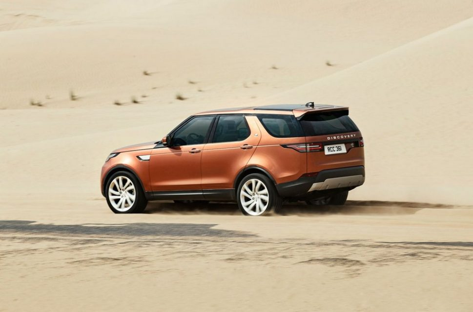 2017 Land Rover Discovery 3