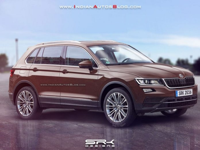 2017 skoda yeti rendered latest car news bikes news reviews. Black Bedroom Furniture Sets. Home Design Ideas