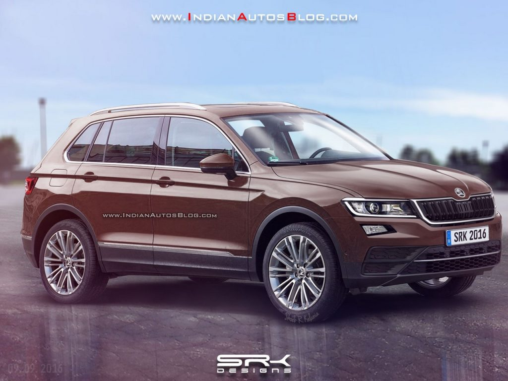 2017 skoda yeti rendered car news bike news reviews. Black Bedroom Furniture Sets. Home Design Ideas