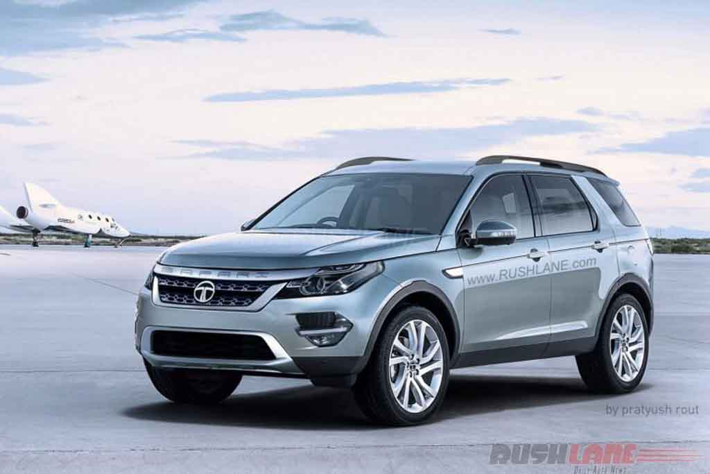 2018 Tata Safari Rendering Takes Design Cue From Land