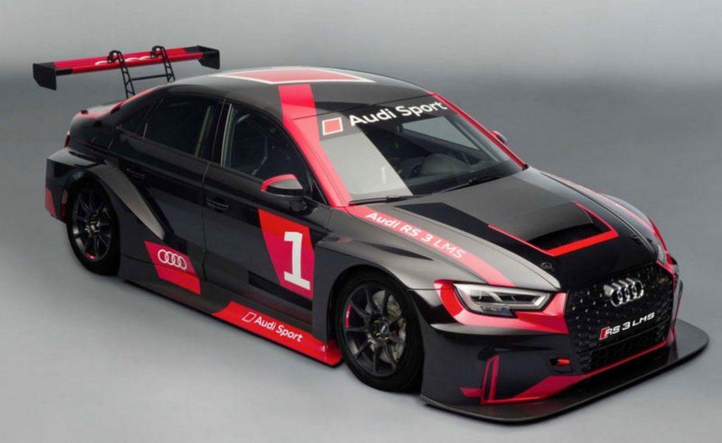 Audi RS3 LMS race car 1