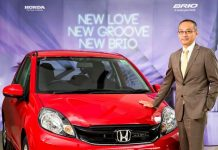 Honda Brio Facelift launched