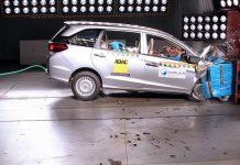 Honda Mobilio GNCAP Crash Test 1
