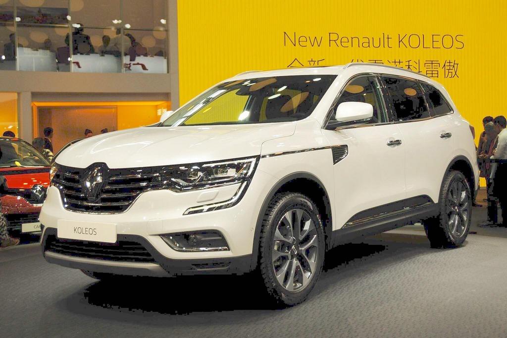 India-Bound New Renault Koleos Revealed in Geneva 1