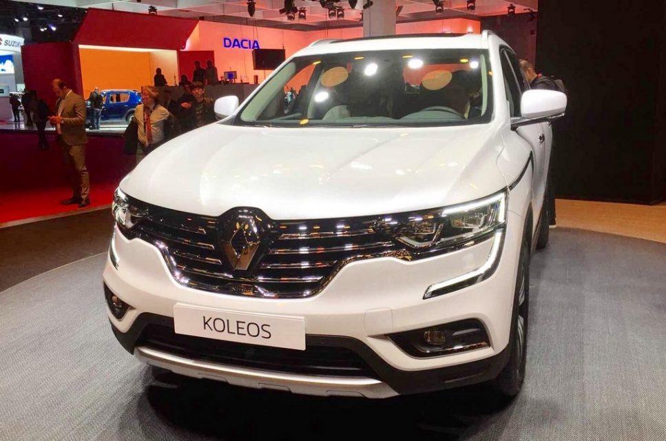 India-Bound New Renault Koleos Revealed in Geneva