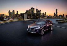 Lexus unveils UX Concept