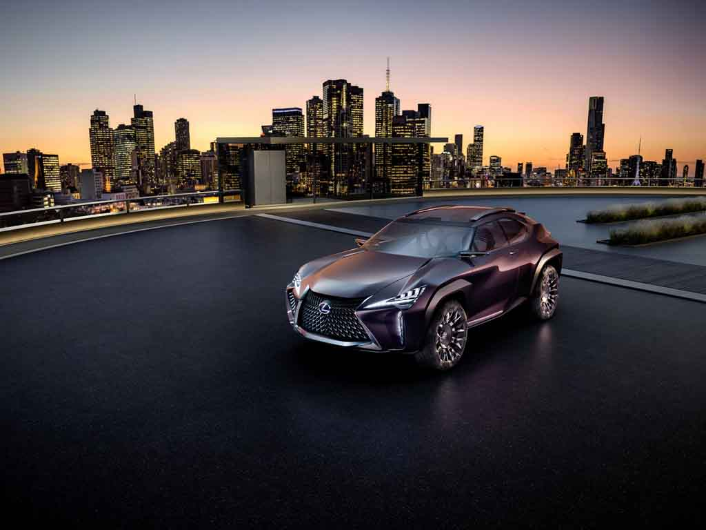 Lexus Ux Concept Unveiled At Paris Motor Show