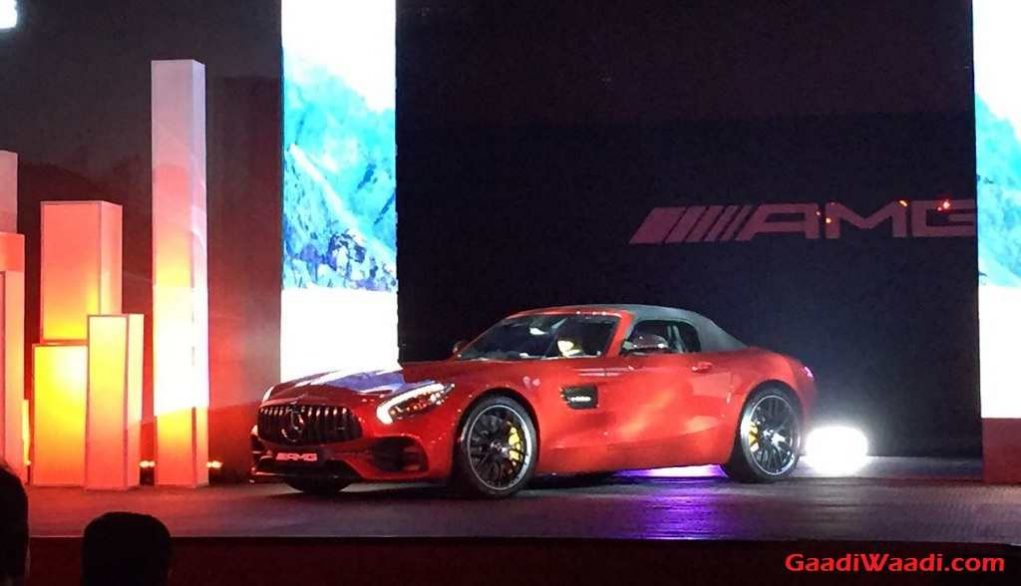 Mercedes-AMG GT Roadster Launched in India