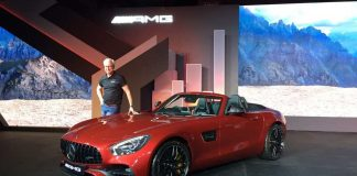 Mercedes-AMG GT Roadster Launched in India 2