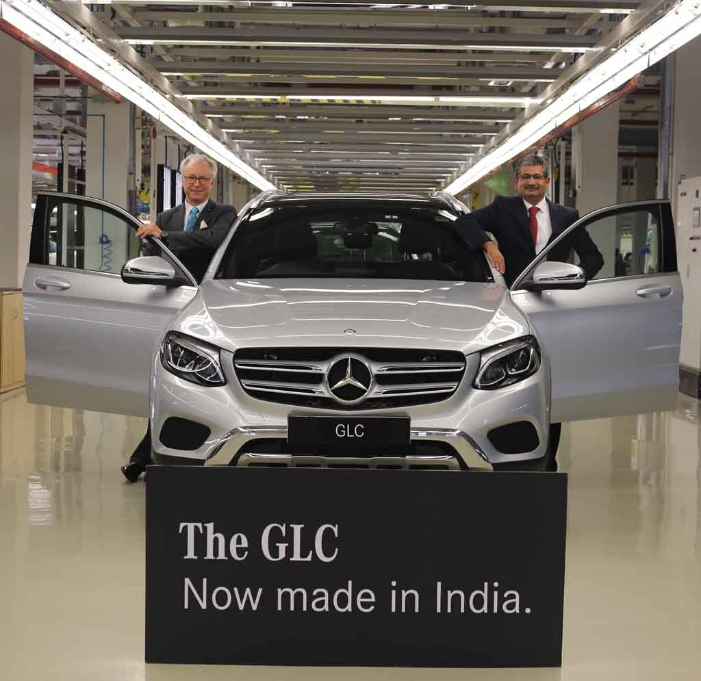 india made mercedes glc launched from rs lakh. Black Bedroom Furniture Sets. Home Design Ideas