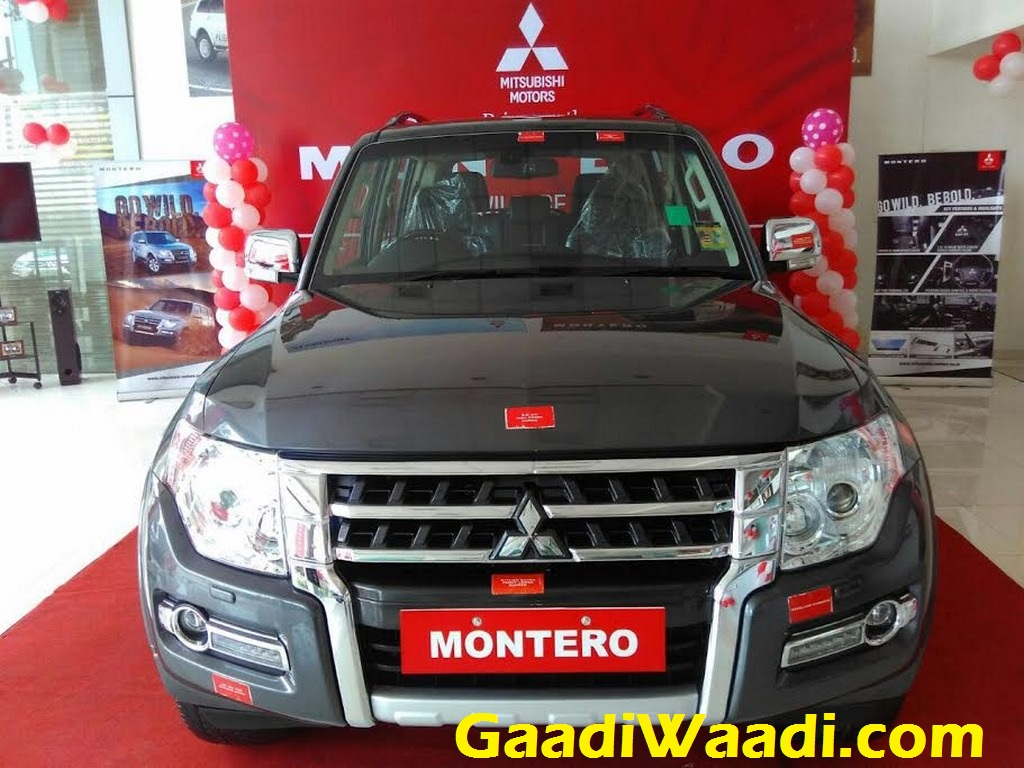 Mitsubishi Montero relaunched in India 1