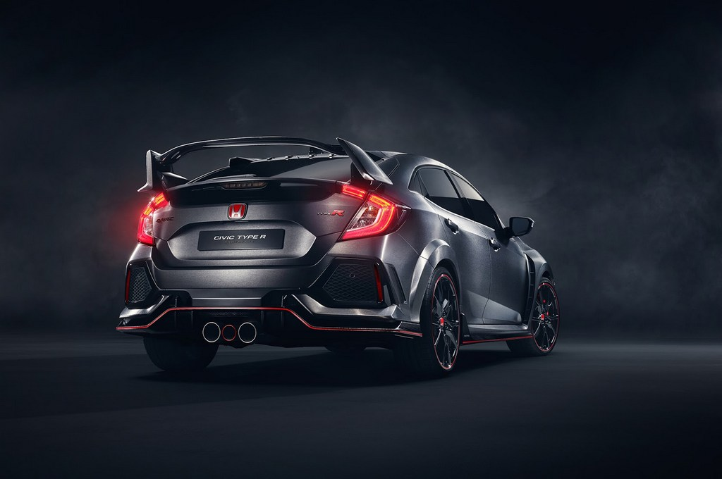new honda civic type r concept revealed in paris. Black Bedroom Furniture Sets. Home Design Ideas