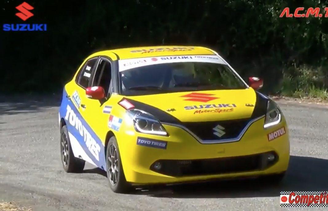 Suzuki Baleno SR (Rally Version) Revealed in Italy