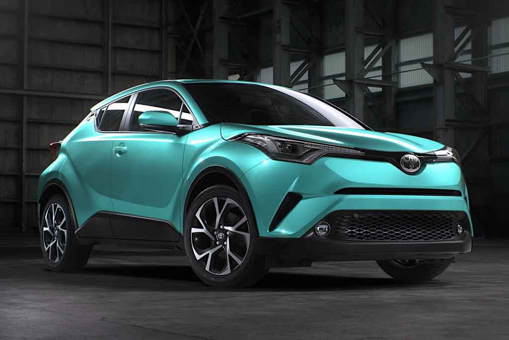 2017 Toyota C Hr Exterior Colour Options Revealed Ahead Of