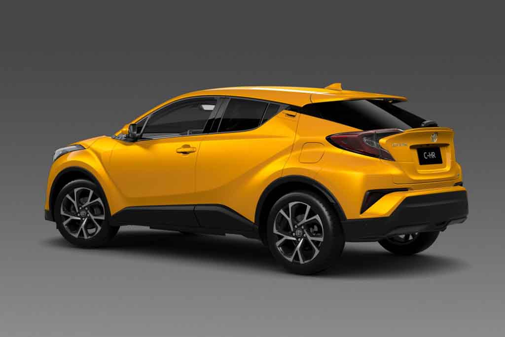 2017 Toyota C-HR Exterior Colour Options Revealed Ahead of Paris Debut