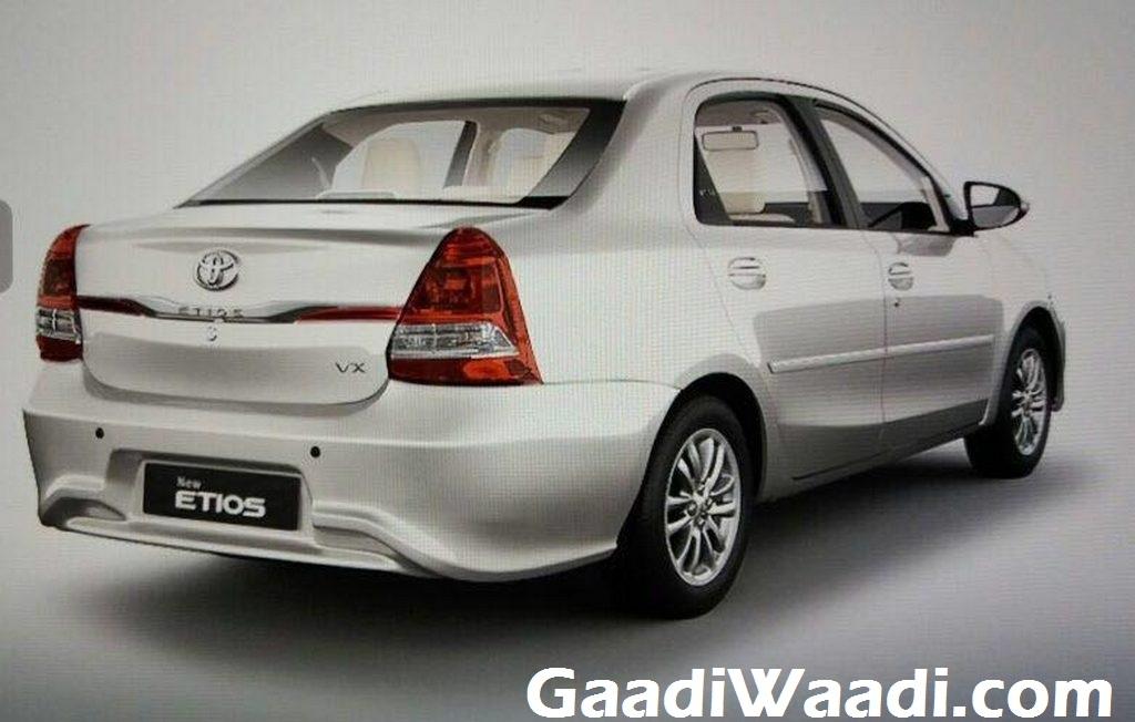 Toyota Etios Platinum Etios Facelift Launched In India