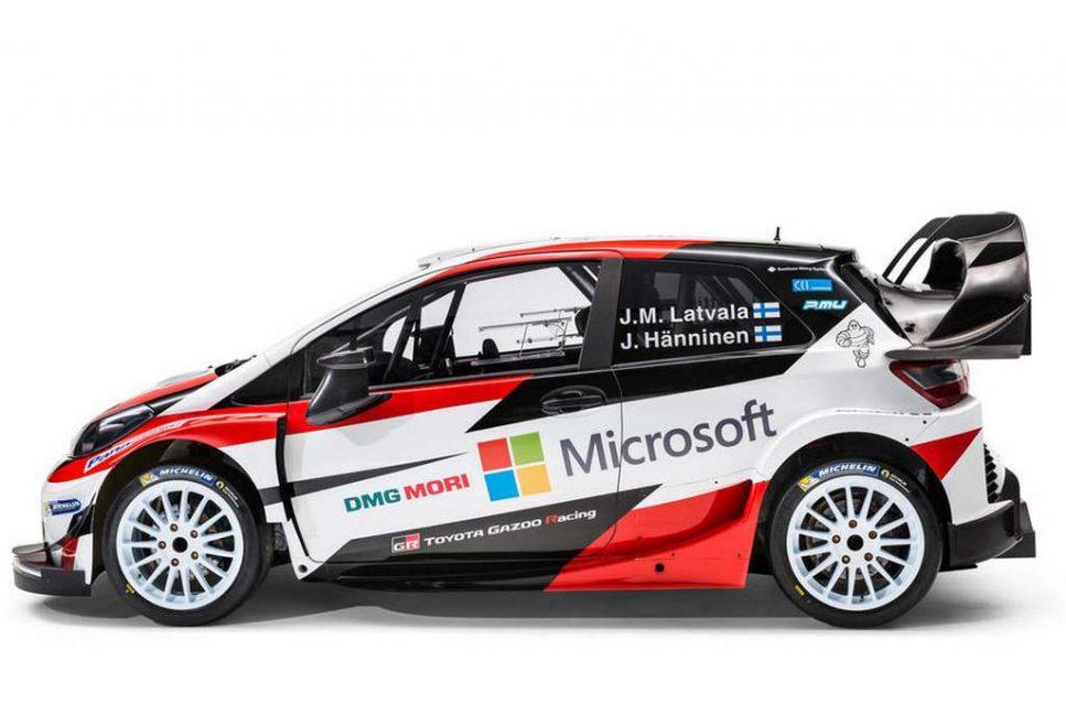 Toyota Gazoo Yaris WRC Car 1