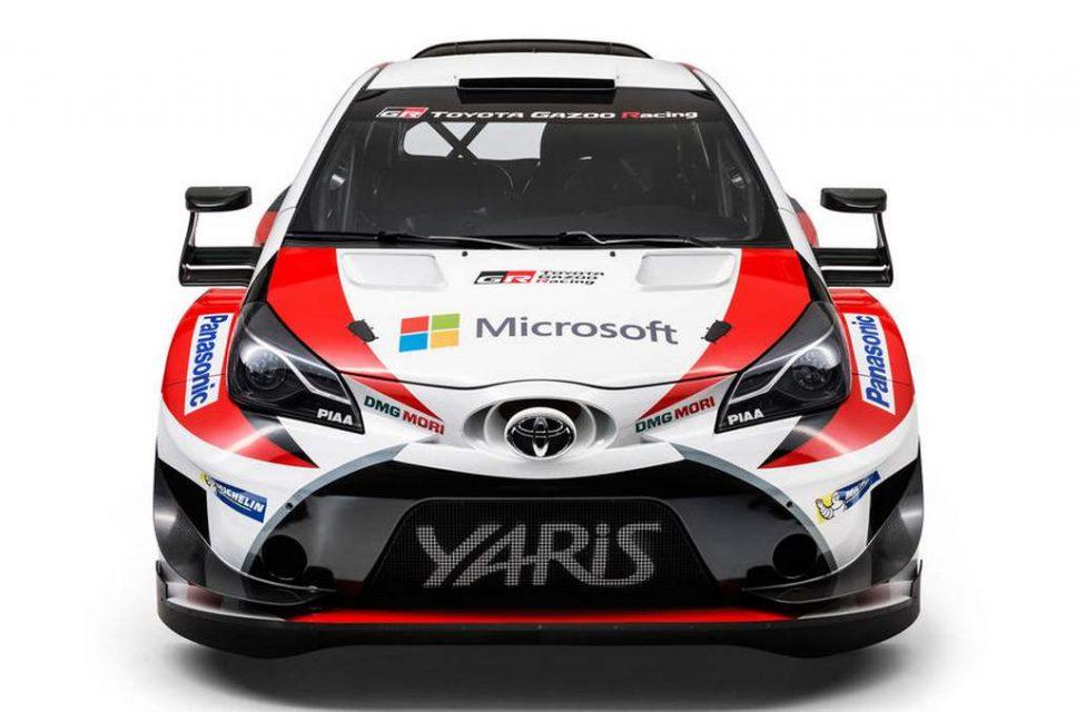 Toyota Gazoo Yaris WRC Car 2