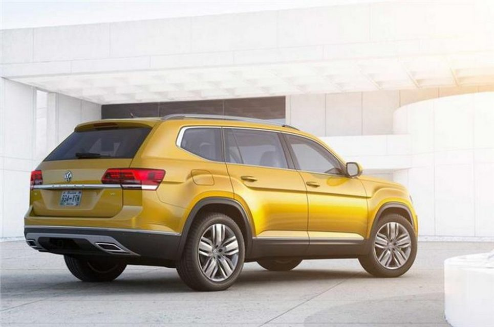 Volkswagen Atlas SUV rear