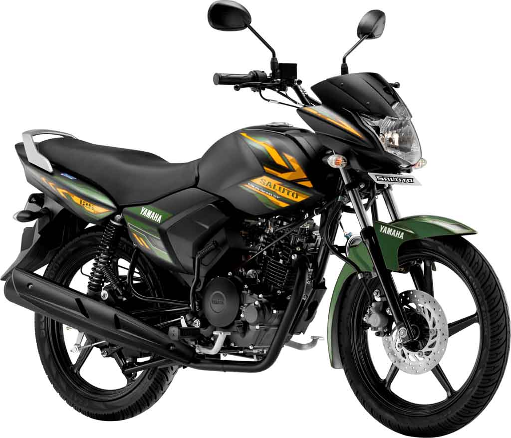 Yamaha Saluto 125 Cc Gets New Matte Green Colour