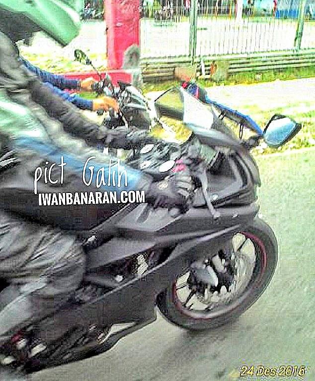Yamaha YZF-R15 V3.0 Spied