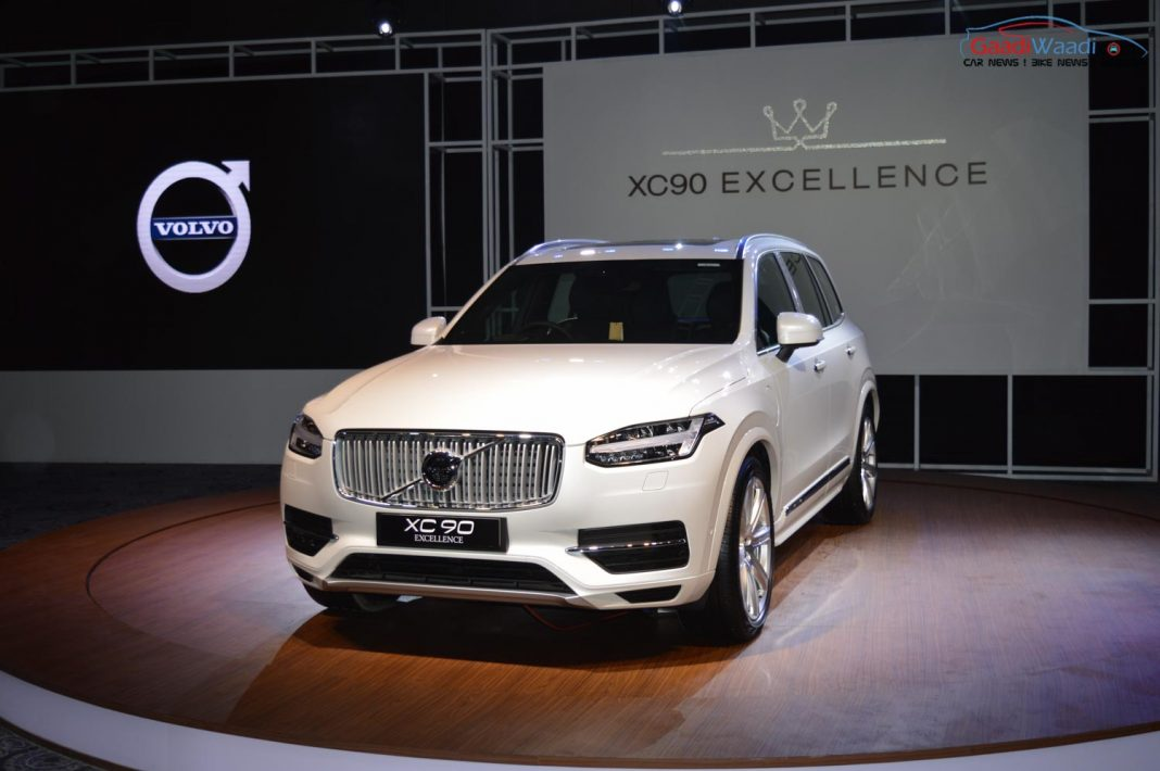 volvo xc90 excellence india launch
