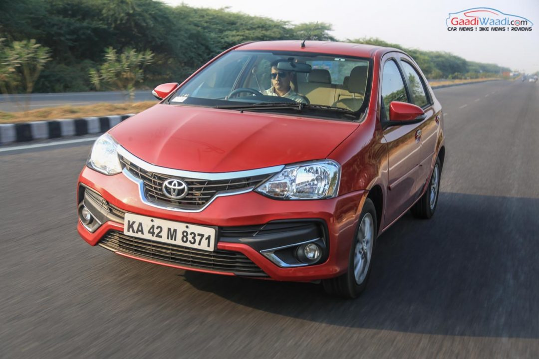 2016 Toyota Etios facelift review petrol