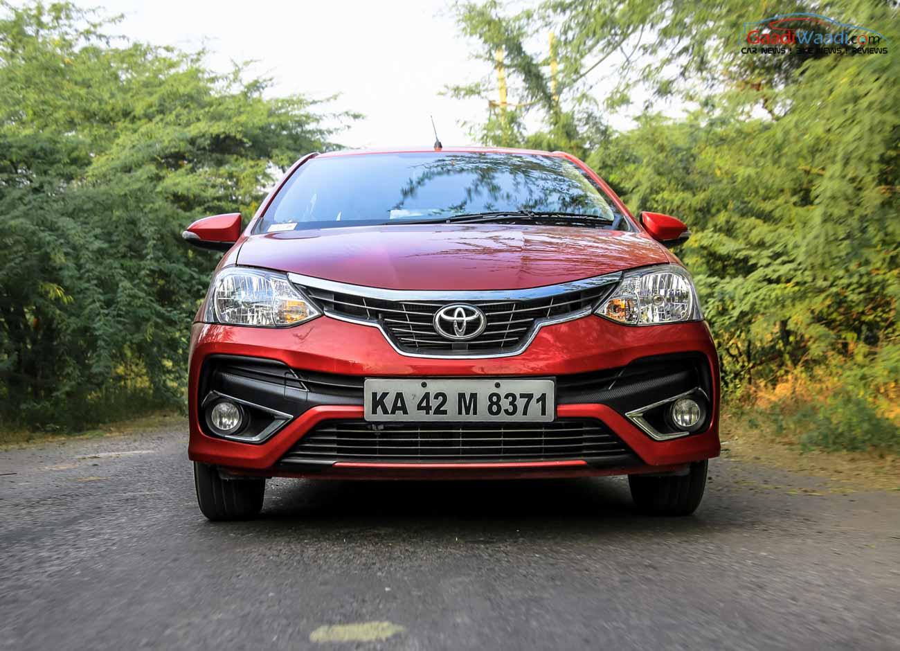 Toyota Etios Facelift Review Petrol