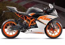 2017 KTM RC 200 India launch