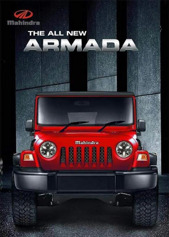 2018 All New Mahindra Armada Imagined Looks Gorgeous