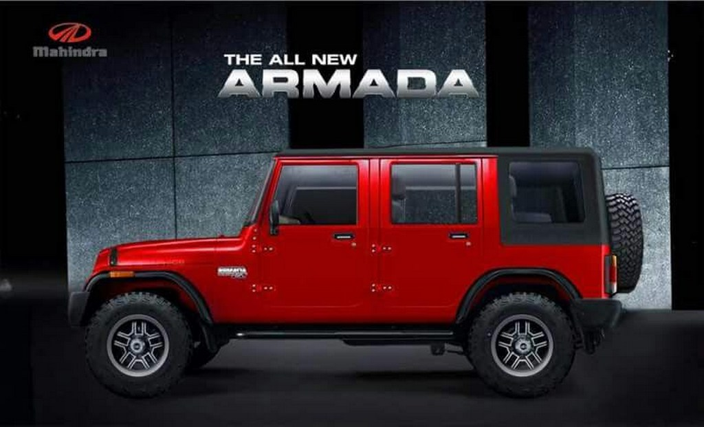 2018 All New Mahindra Armada Imagined Looks Gorgeous