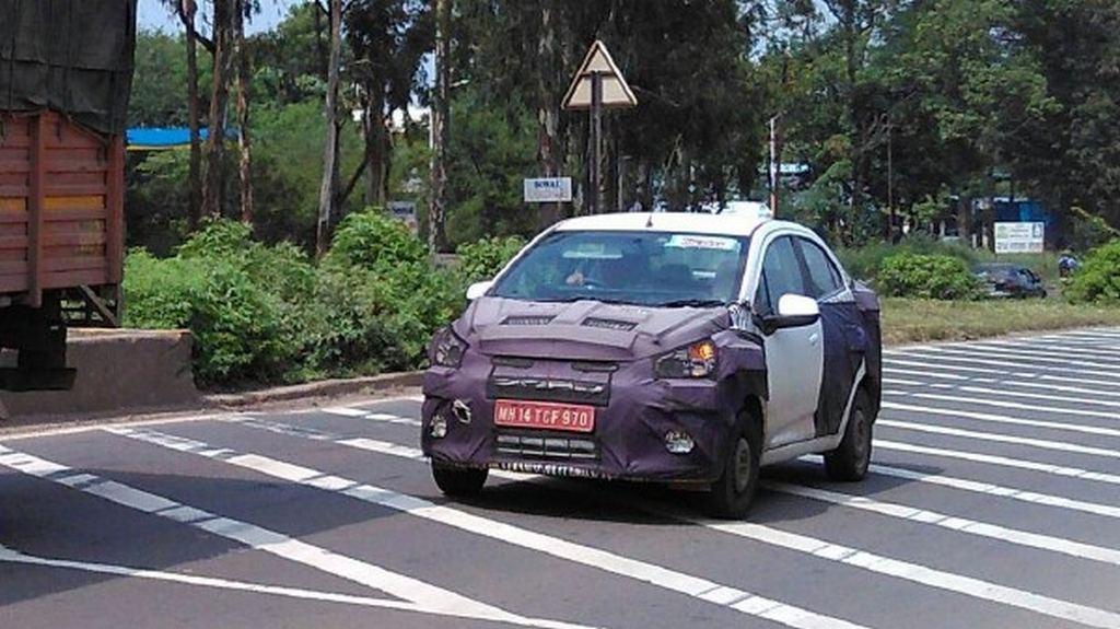 Chevrolet Essentia spied 1